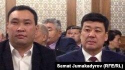 Азамат Айтбаев жана Бакыт Төрөбаев.