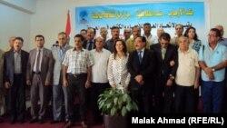مشاركون في المؤتمر الاستثنائي لمثقفي العراق
