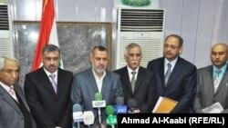محافظ ميسان والوفد الحكومي الزائر