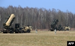 Батальон сил ПВО США на учениях на территории Польши