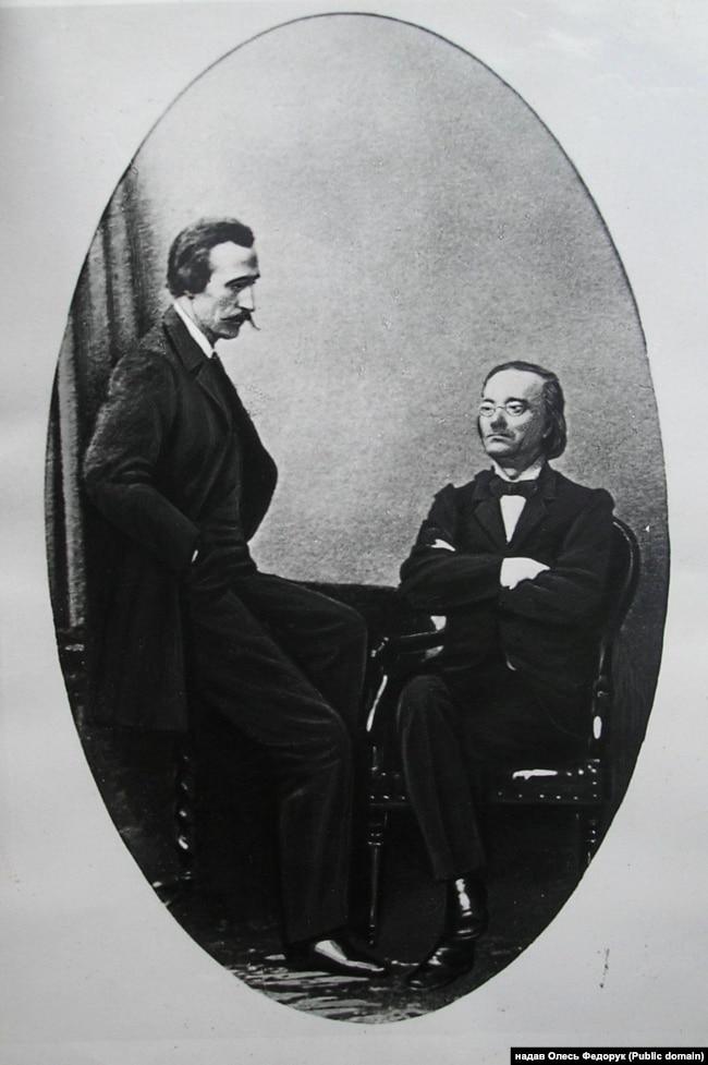 Пантелеймон Куліш і Микола Костомаров (1859 рік)