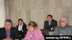 Байкоочулар кеңеши Коомдук телеканалдын жетекчисин шайлоо учуру. 9-октябрь, 2010-жыл.