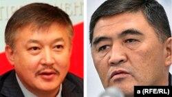 Ахматбек Келдибеков и Камчыбек Ташиев.