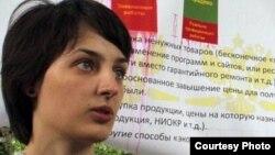 Журналист «Новой газеты» Елена Костюченко