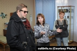 Татьяна Мельникова (в центре) и Борис Гребенщиков
