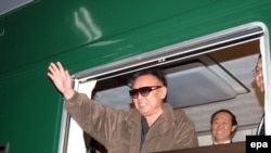 North Korean leader Kim Jong Il in a 2006 photo