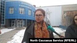 Адвокат семьи Цкаевых Анжелика Сикоева, Владикавказ 25 февраля 2019 года