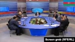 Теледебаты кандидатов в президенты. Азербайджан.