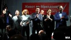 SDSM-in başçılıq etdiyi «Makedoniyada həyat» koalisiyası yerli seçkilərdə qələbəni bayram edir