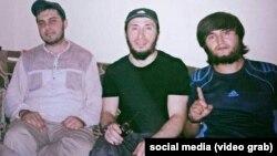 Daghestani preachers Nadir Abu Khalid, Akhmad Medinsky, and Tajik militant Abu Daoud Tochiki