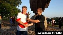 Міхась Скобла і Алесь Аркуш