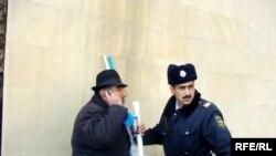 YAP üzvlərinin MSK qarşısında etiraz aksiyası, 26 dekabr 2009