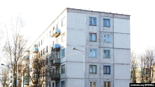 "The bombers allegedly prepared the attack in a ""laboratory"" in the basement of this Vitebsk apartment building."
