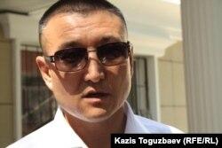 Курушбек Танирбергенов, адвокат генерала Багдата Майкеева. Алматы, 27 июня 2014 года.