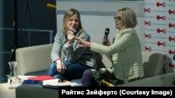 Елена Михайловская и Маргарита Новикова