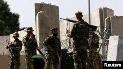 Pjesëtarë të ushtrisë afgane që kanë ndërmarrë operacione kundër militantëve