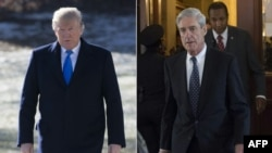 Donald Trump i Robert Mueller