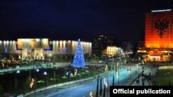 Pamje nga Tirana, foto nga arkivi