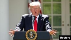 Թրամփ․ Փարիզի համաձայնագիրը հրեշավոր խոչընդոտներ էր սահմանում ԱՄՆ-ի նկատմամբ