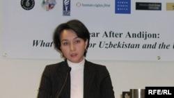 Журналистка Галима Бухарбаева, основатель и главный редактор веб-сайта Uznews.net.