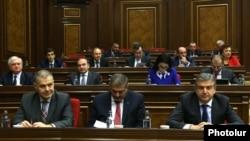 Ermənistan parlamenti 20 oktyabr 2016