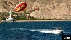 Пляж Эйлата – одного из самых популярных курортов Израиля