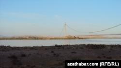 Приграничная территория между Афганистаном и Туркменистаном