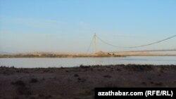 Turkmen Afghan border.