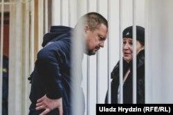 Ігар Ласіцкі з адвакаткай, 11 студзеня 2019 году