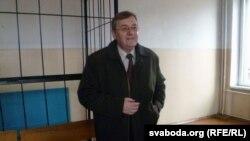 Віктар Сырыца ў залі суду