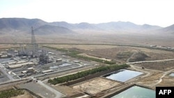 Iran's Arak heavy-water nuclear plant in 2006