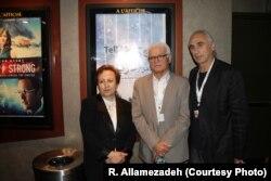 با شیرین عبادی برنده ایرانی جایزه صلح نوبل، و بیژن شاهمرادی تهیهکننده «با من از دریا بگو»