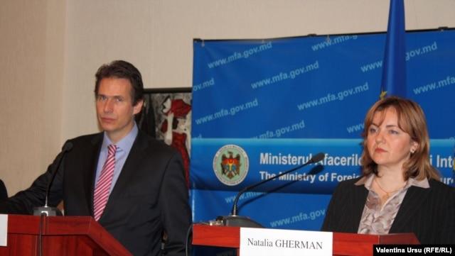 Gunnar Wiegand și Natalia Gherman