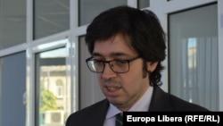 Jordi Ruiz Rodriguez, în biroul EL din Chișinău