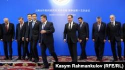 Уюмга Кыргызстан, Кытай, Өзбекстан, Орусия, Казакстан жана Тажикстан кирет. Мындан тышкары бир канча мамлекет Байкоочу мүчө макамына ээ.
