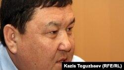 Бывший первый заместитель акима Мангистауской области Амангельды Айткулов. Жанаозен, 18 декабря 2011 года.