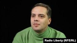 """Лидер партии """"Демократический выбор"""" Владимир Милов."""