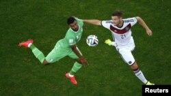 Германия менен Алжир командаларынын беттешүүсү. Бразилия, 30-июнь 2014-жыл