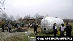 წითელი ჯვრის საერთაშორისო კომიტეტმა ცხინვალის მოსაზღვრე სოფელში ჭაბურღილისა და 25 ტონიანი რეზერვუარის სამონტაჟო სამუშაოები დაიწყო