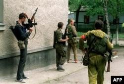 Під час бойових дій на вулицях молдовського міста Бендери, 29 червня 1992 року