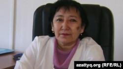 Кайныш Сагимбаева, главный психиатр Центра психического здоровья города Алматы. Алматы, 16 октября 2012 года.