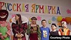 16-цігадовая беларуска Таня Казыра (на здымку чацьвёртая справа)
