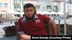 Один из чеченских беженцев, живущих в Белостоке.