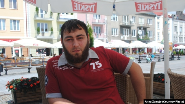 Chechen asylum-seeker Humid