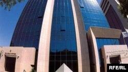 Здание Международного банка Азербайджана в Баку.