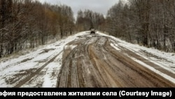 Дорога в село Трехречье Кировской области