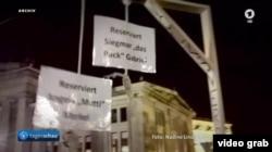 Reportaj TV asupra extremismului de dreapta german (Foto: TV/ARD)