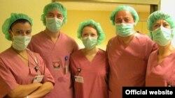 Дел од тимот на Кардиохирургија Филип Втори.