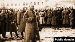 Генэрал Люцыян Жалігоўскі ў Вільні, 1920