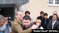 Владимир Садовничий һәм Эстония урысы Алексей Руденконың иреккә чыгу мизгелләре